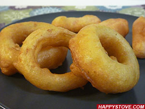 Deep Fried Battered Vegetables - By happystove.com