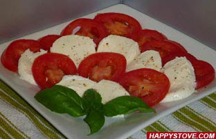 Caprese Salad - By happystove.com