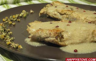 Sleepy Chamomile Chicken - By happystove.com