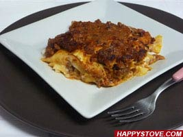 Traditional Lasagna - By happystove.com