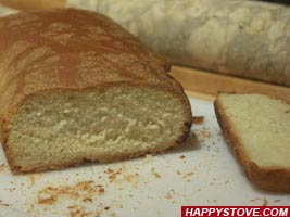 How to make homemade Milk Bread - By happystove.com