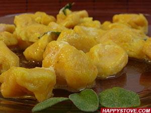 How to Make Pumpkin Gnocchi II - By happystove.com