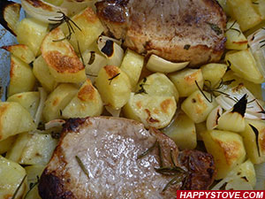 Roast Pork Loin - By happystove.com