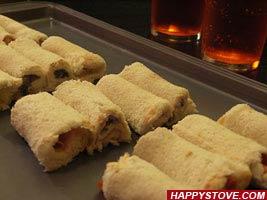 Peanut Butter Tramezzini Rolls