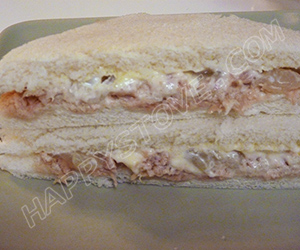 Tuna and Onions Tramezzini